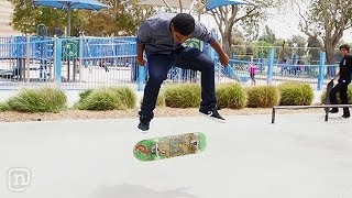 Skateboarders Christopher Chann vs Lamont Holt - Game of S.K.A.T.E