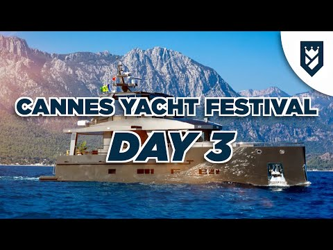 CANNES YACHT SHOW DAY 3 - BERING 70, BAGLIETTO 40... and a SURPRISE!!!