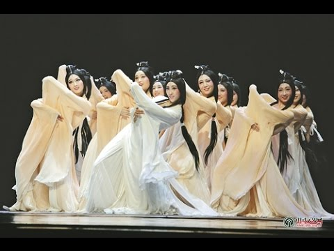 Beautiful Chinese Classical Dance【22】《洛水佼人》720p.