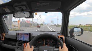【Test Drive】 2020 Daihatsu TAFT Turbo 660cc 4WD - POV Drive