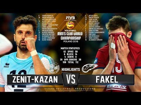 Zenit Kazan vs. Fakel   Highlights   FIVB Club World Championship 2018
