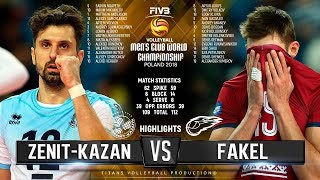 Zenit Kazan vs. Fakel | Highlights | FIVB Club World Championship 2018
