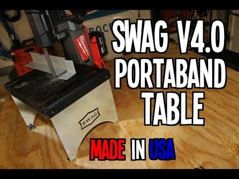 SWAG V4.0 Portaband Table - MADE IN USA