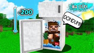 BUZDOLABINDAN SON ÇIKAN KAZANIR! 😱 Minecraft