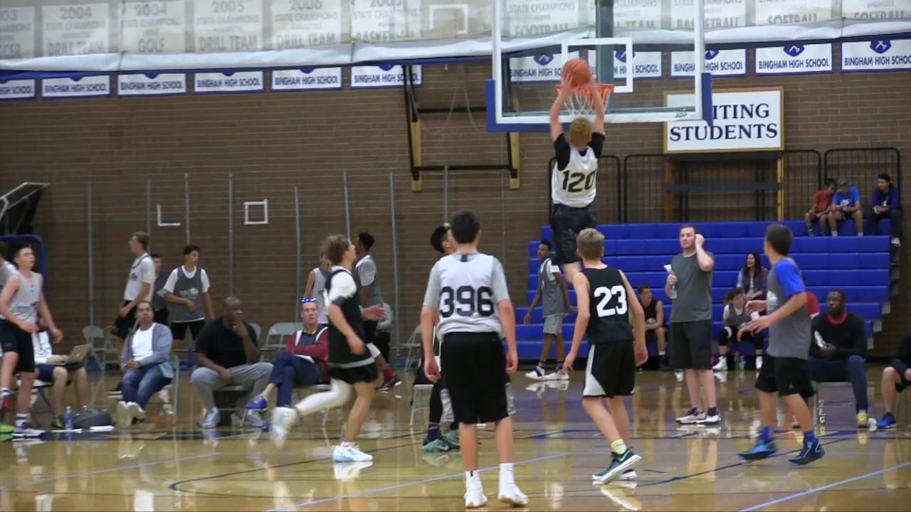 Nico Mannion: Peek into life of basketball prodigy