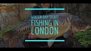 Winter Day Ticket Fishing in London / The Chase **Carp Fishing**