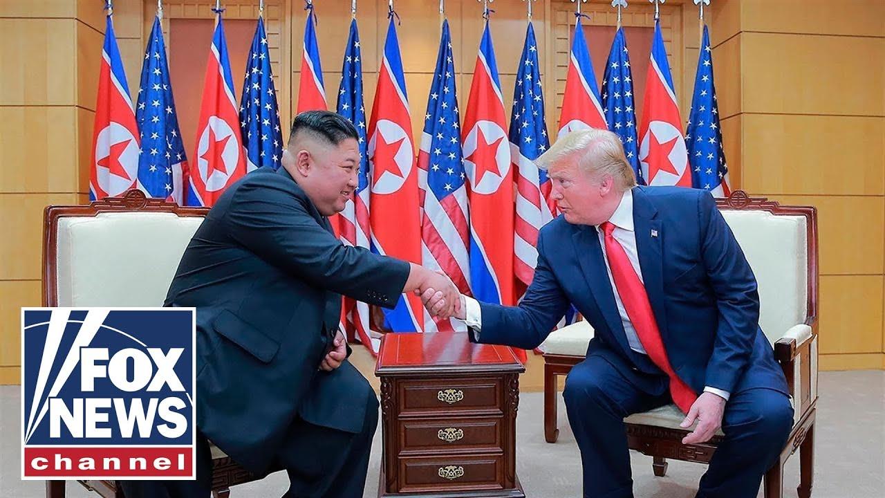 FOX News Trump's historic moment in North Korea earns Democrat rage