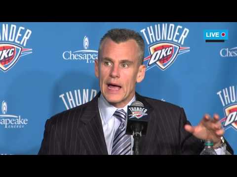 NewsOK - Billy Donovan Introductory Press Conference