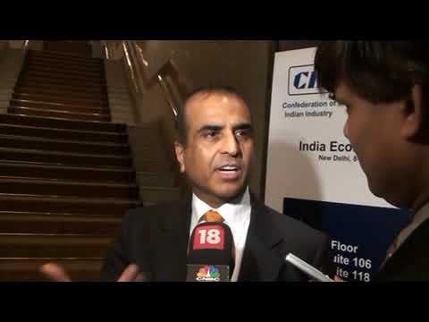 WEF India 2009 sidelines: Sunil Bharti Mittal