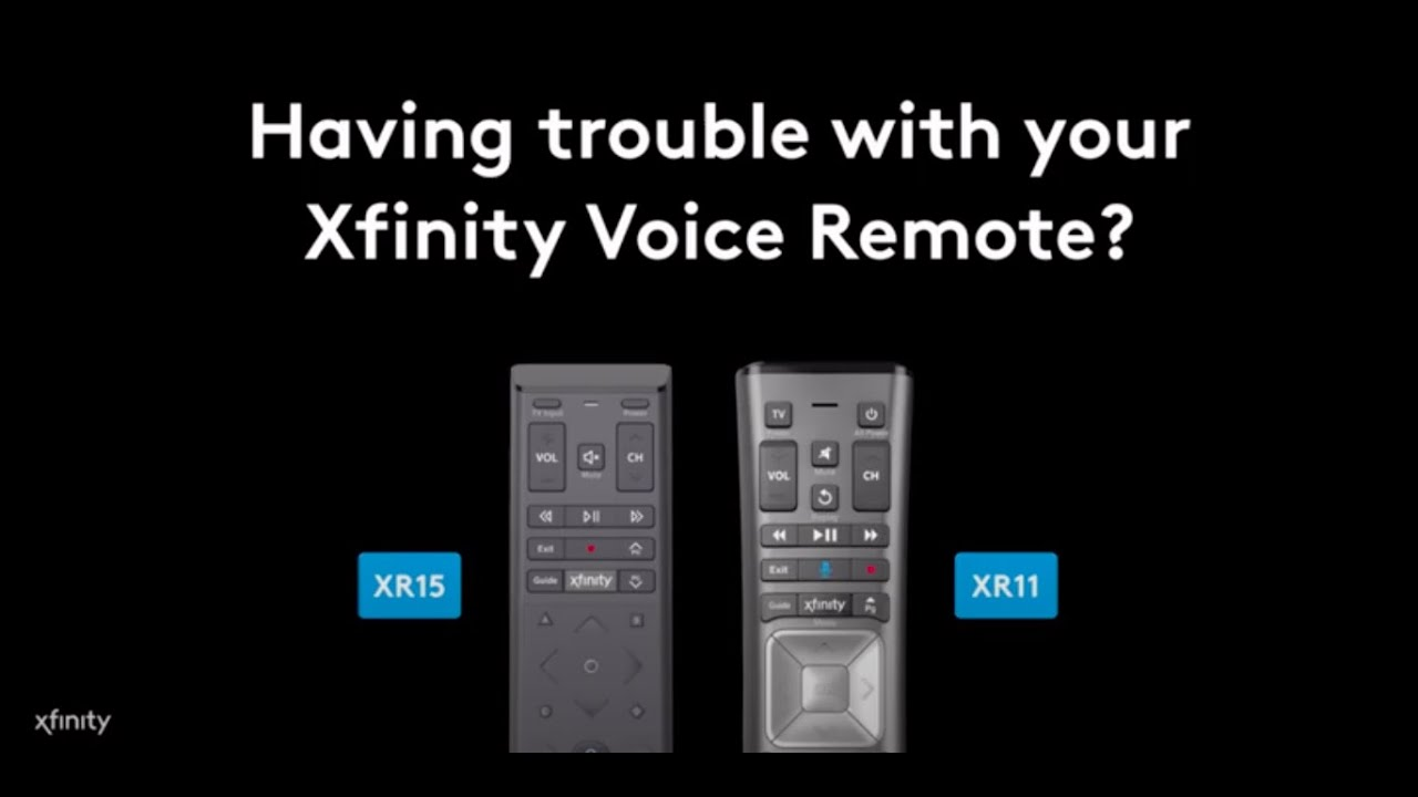 Xfinity Voice Remote Troubleshooting Youtube