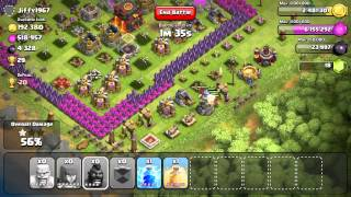 Clash of Clans - 1 Million Raid In Crystal 1?!?!??!! Over 4,500 Dark Elixir Heist