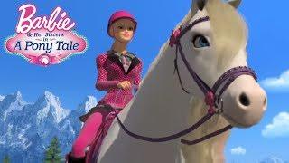 День скачек. Барби сказка о пони: мультики для девочек.