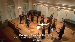 Torelli - Concerto grosso Op.8  No.5 in G Major - Croatian Baroque Ensemble 24-10-2010