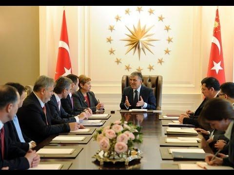 Moldova Başbakanı Filat Çankaya Köşkü'nde-01.11.2012