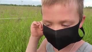 Распаковка Многоразовая маска для лица
