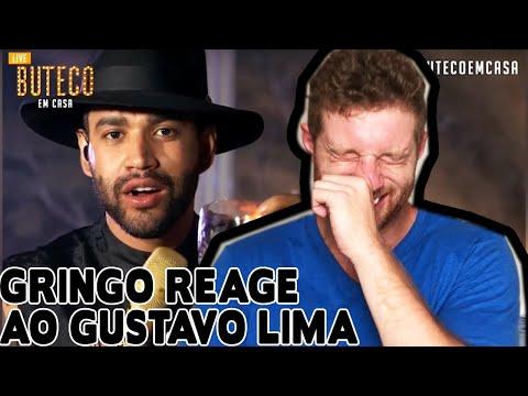 GRINGO REAGINDO À LIVE DO GUSTTAVO LIMA BUTECO EM CASA (Maior Live da História do YouTube)