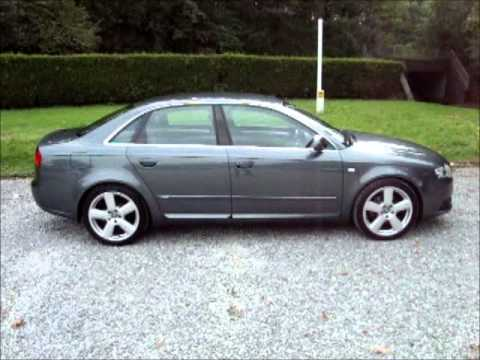 2007 audi a4 2 0 tdi s line 140 youtube. Black Bedroom Furniture Sets. Home Design Ideas