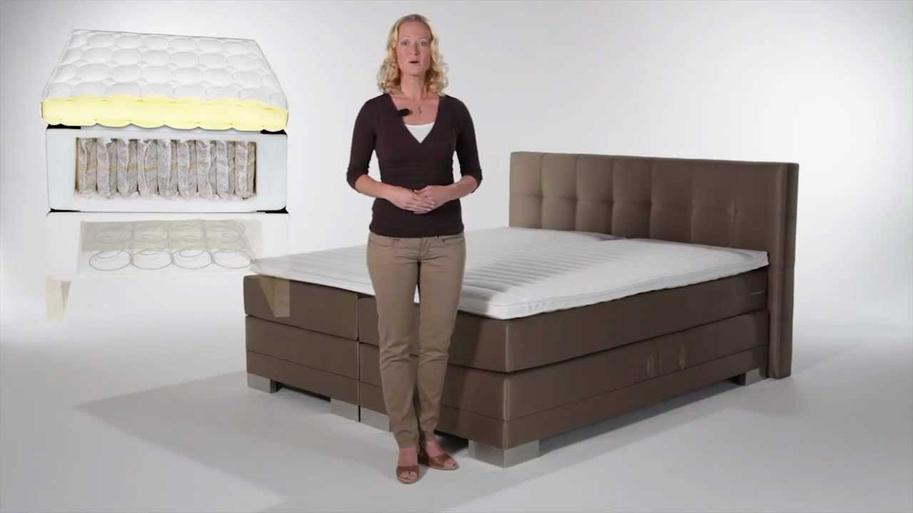 boxspring betten youtube. Black Bedroom Furniture Sets. Home Design Ideas