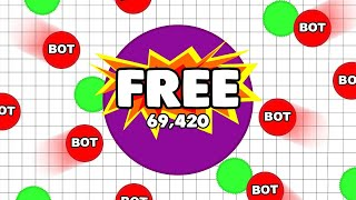 PLAYING AGAR IO WITH BOTS BOTS ARE BACK agarbot ovh