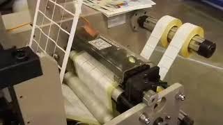 видео Термоэтикетки, самоклеющиеся термоэтикетки