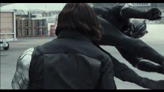 Чёрная пантера против Баки (Зимний солдат)