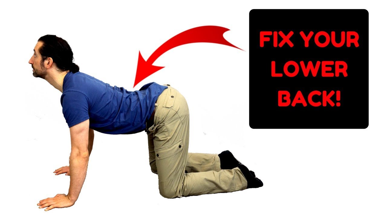 Lower Back Pain Exercises Fix Your Lower Back Pain Fast