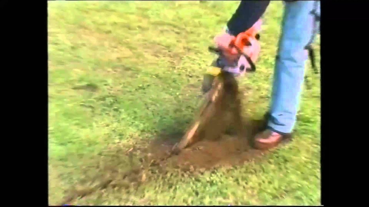 rent trench digging machine