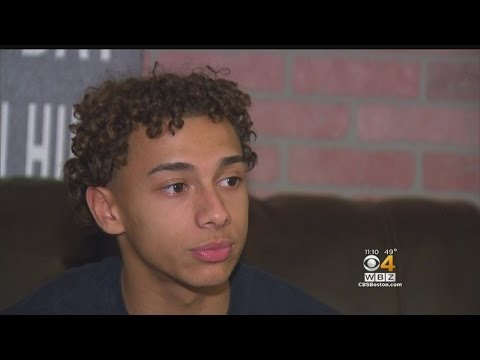 Teen Protects Girl From Stranger At Boston Target