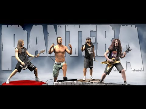 """Pantera """"Cowboys From Hell"""" collector statues - DevilDriver cover  'Loco""""!"""