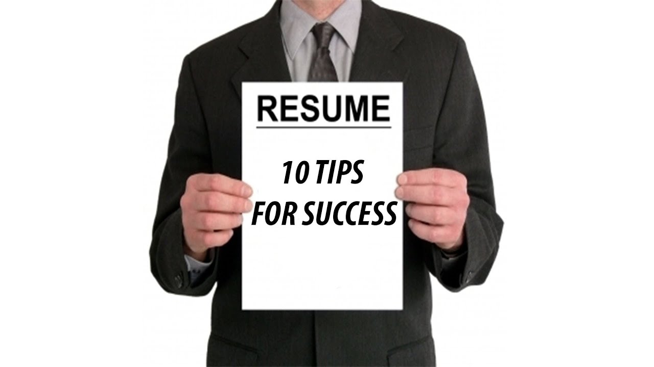 10 TIPS ON IMPROVING YOUR RESUME   MAKING IT WORK!   YouTube  Resume Check