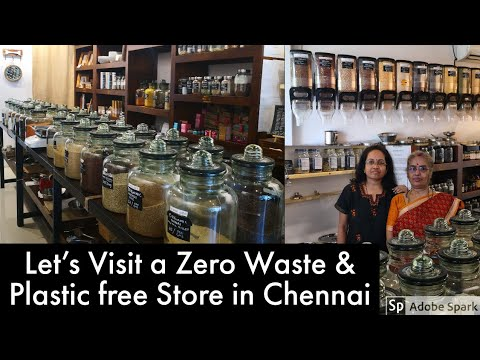 Let's visit a Zero waste & Plastic free store in Chennai - Eco Indian Store