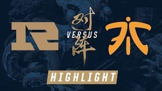 RNG vs. FNC Worlds Quarterfinals Match Highlights 2017
