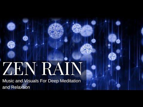 zen rain meditation music youtube. Black Bedroom Furniture Sets. Home Design Ideas