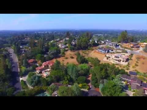 24591 Summerhill Court Los Altos, CA by Douglas Thron drone real estate aerial tour videos