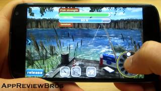 Bass Professor's Fish Paradise 3D Game Review - Nexus 4 [Android]