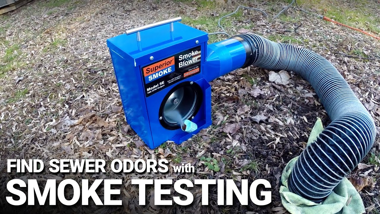 Plumbing Smoke Testing – Find Sources of Odor and Leaks Fast!
