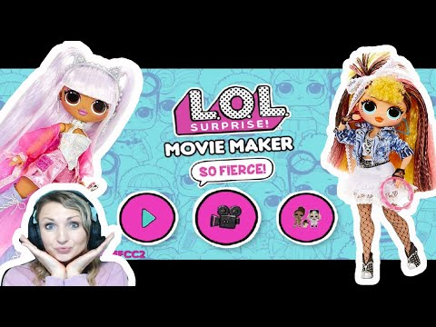 lol-surprise-movie-maker-by-outright-games-+-lol-surprise-remix-omg-dolls