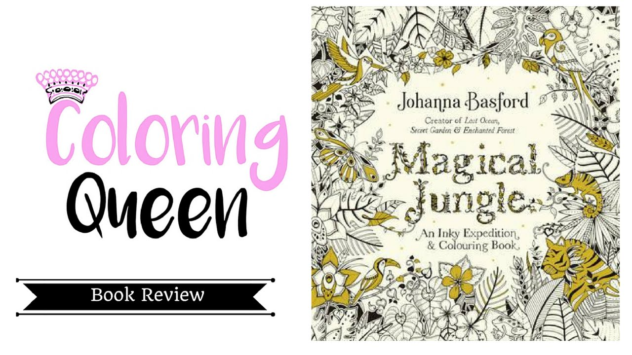 Magical Jungle Coloring Book UK Edition Review