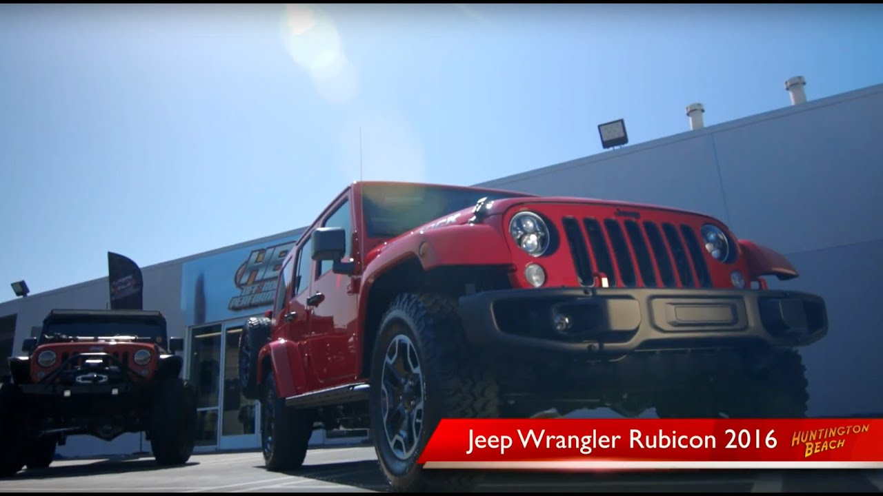 Huntington Beach Jeep >> 2016 Jeep Wrangler Rubicon Orange County Huntington Beach Jeep