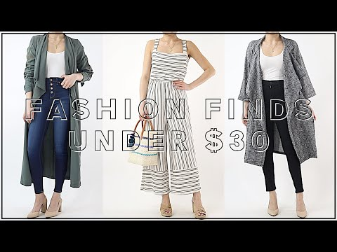 20 Fashion Finds Under $30   Affordable Walmart Try On Clothing Haul   Miss Louie
