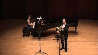 R. Gliere four pieces for horn and piano Op.35