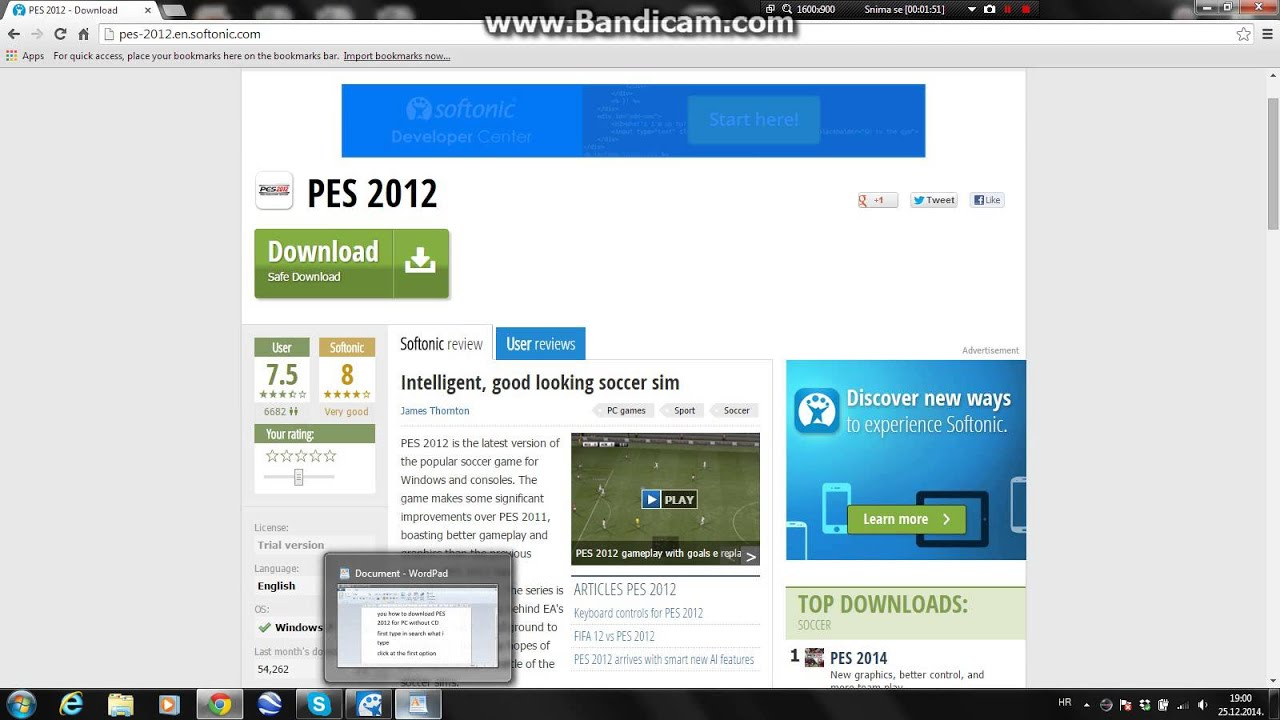 pes 2011 free download full version for pc softonic