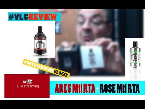 ARES Mtl RTA - ROSE Mtl RTA LIVE Review