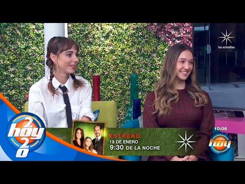 Natalia Téllez y Nina Rubín nos hablan acerca de sus personajes en 'Te acuerdas de mí'   Hoy