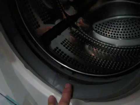 Как достать монету из стиральной машины