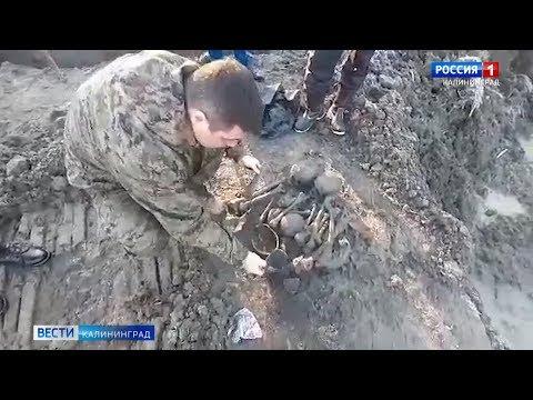 В Калининграде на стройке нашли останки четырёх человек