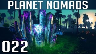 PLANET NOMADS [022] [Kristalle & Ressourcen] Let's Play Gameplay Deutsch German thumbnail