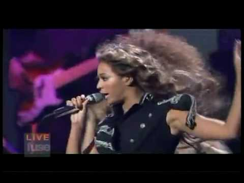 Beyonce Diva Live at Jay-Z 911 Tribute Concert in NYC Live on LIVE Fuse TV