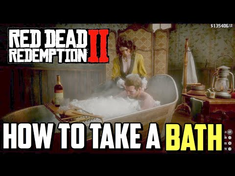 How to take a Bath in Red Dead Redemption 2