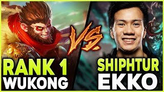 Download #1 WUKONG WORLD POPS OFF AGAINST SHIPHTUR IN HIGH-ELO - League of Legends Mp3 and Videos